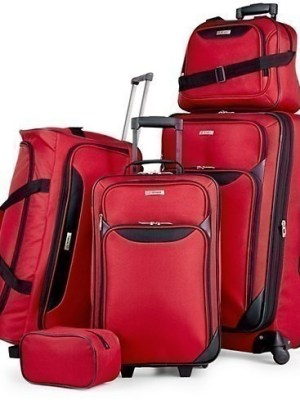 Macy's: Tag Springfield III 5 Piece Luggage Set just $57