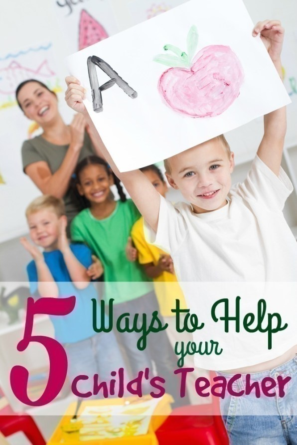 Here are FIVE ways you can lend a helping hand to your child's teacher to ensure they have the support they need to help your son or daughter.