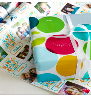 Shutterfly: FREE 6′ Roll of Custom Photo Gift Wrap {Just Pay Shipping}