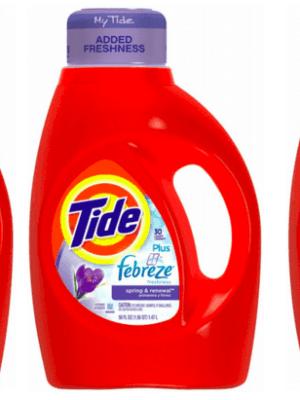 CVS: Tide Laundry Detergent $2.09