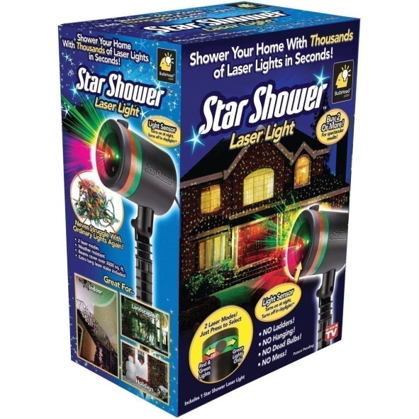 before you even hang up lights this year this would be a much easier route agree amazon has the star shower star shower outdoor laser christmas