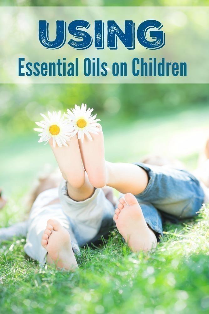 Using Essential Oils on Children