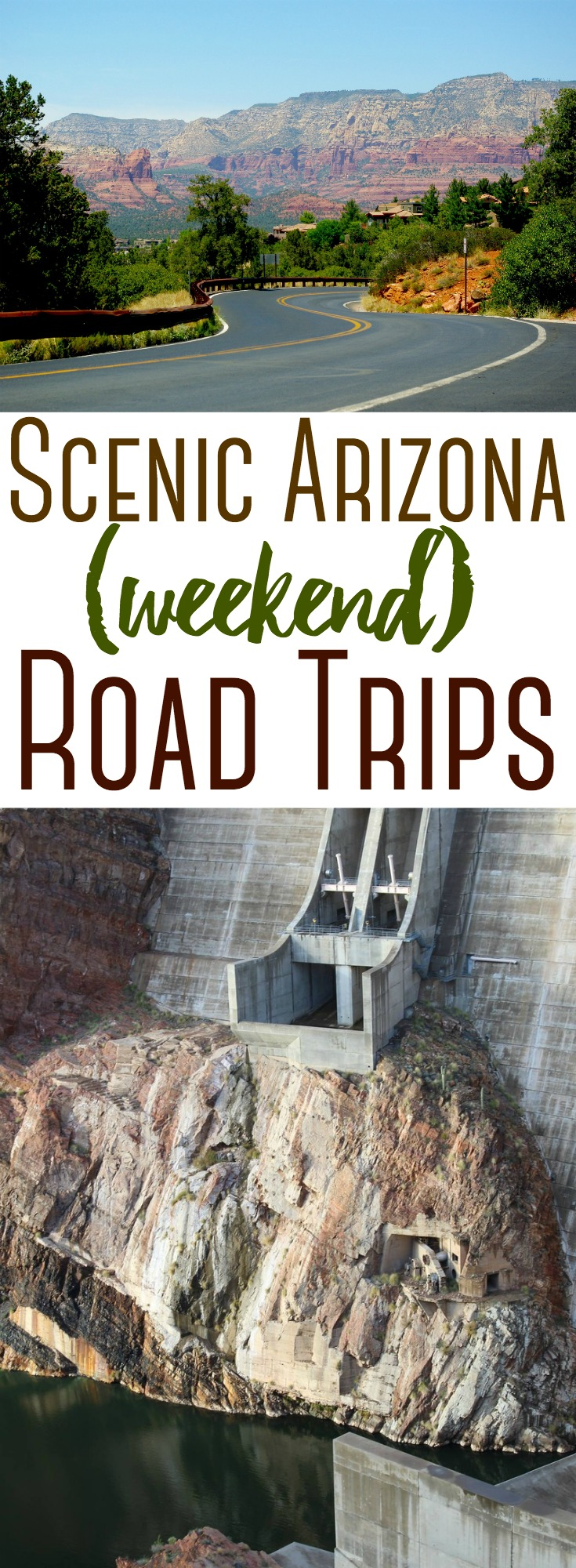 Have a day or two to spare? Jump in the car & head out on any of these fun road trips to see more of Arizona! #travel #roadtrip #Arizona #southwest