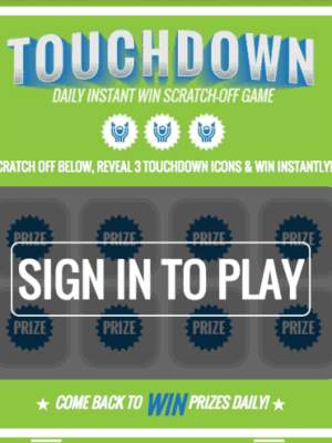 NEW Kroger Game Day Greats Instant Win Game (10,000 Prizes)