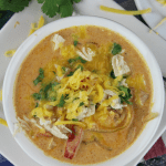 Instant Pot Cheesy Chicken Enchilada Soup