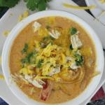 Instant Pot Cheesy Chicken Enchilada Soup