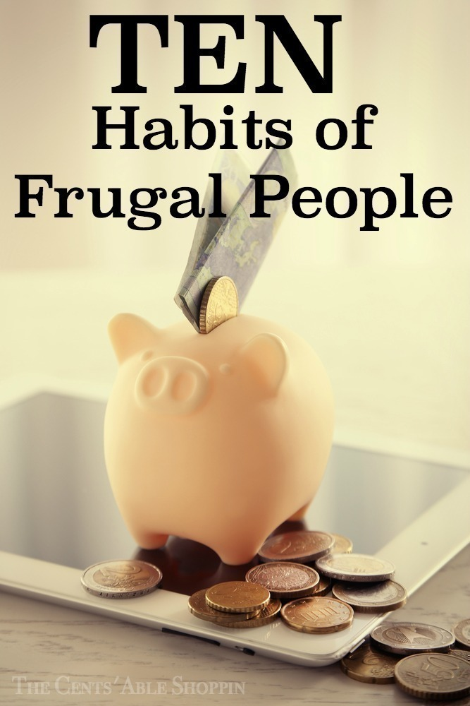 There is no doubt that frugal people do many things different in order to save money and cut costs. It doesn't always boil down to money though - here are ten habits that you may find common in frugal people.