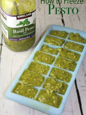 How to Freeze Pesto