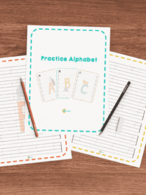 FREE Handwriting Alphabet Worksheets with Zoo Animals