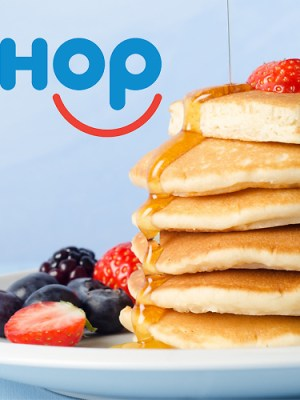 IHOP: FREE Stack of Red, White and Blue Pancakes for Military