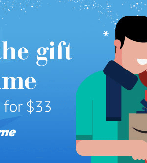Give the Gift of Amazon Prime as low as $33