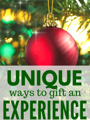 Unique Ways to Gift an Experience