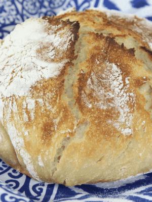 Sourdough Bread with Raw Milk Kefir