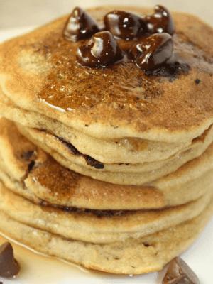 Silver Dollar Almond Flour Pancakes