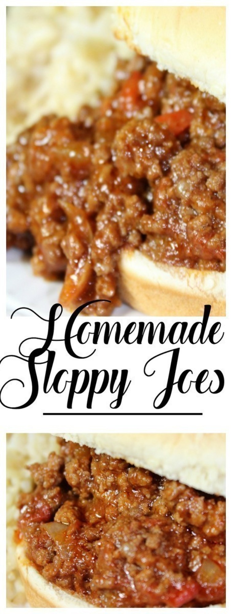 The best homemade Instant Pot Sloppy Joe recipe you'll ever find! #InstantPot #SloppyJoes #homemade