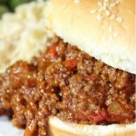 Instant Pot Homemade Sloppy Joes