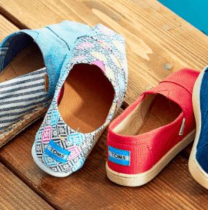 Zulily:  Featuring Toms Shoes at 45% OFF
