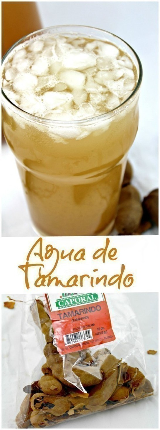 Agua de Tamarindo or, Tamarind Water, is one of the most popular aguas frescas in all of Mexico. Learn how to make Agua de Tamarindo easily at home.