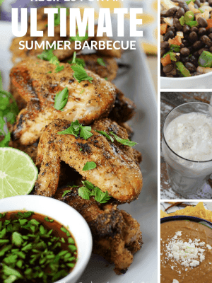 Recipes for an Ultimate Summer Barbecue