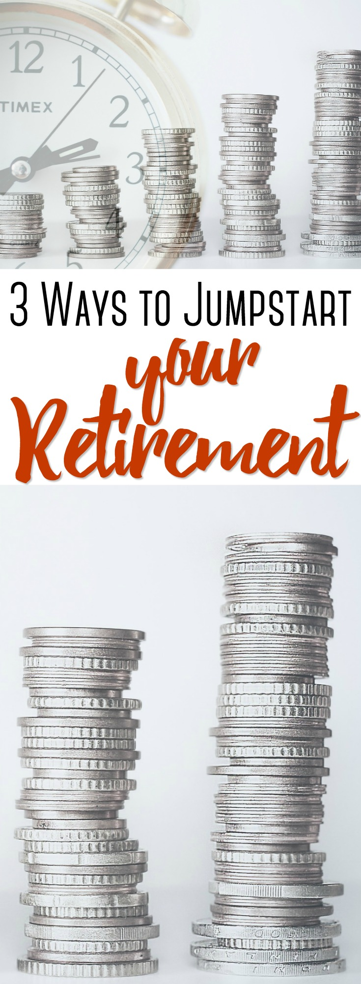 One in three Americans has nothing saved for retirement, and women are 27% more likely not to have retirement savings. Learn how you can jump start your retirement today. #retirement #money #budgeting #savingmoney #money #investing
