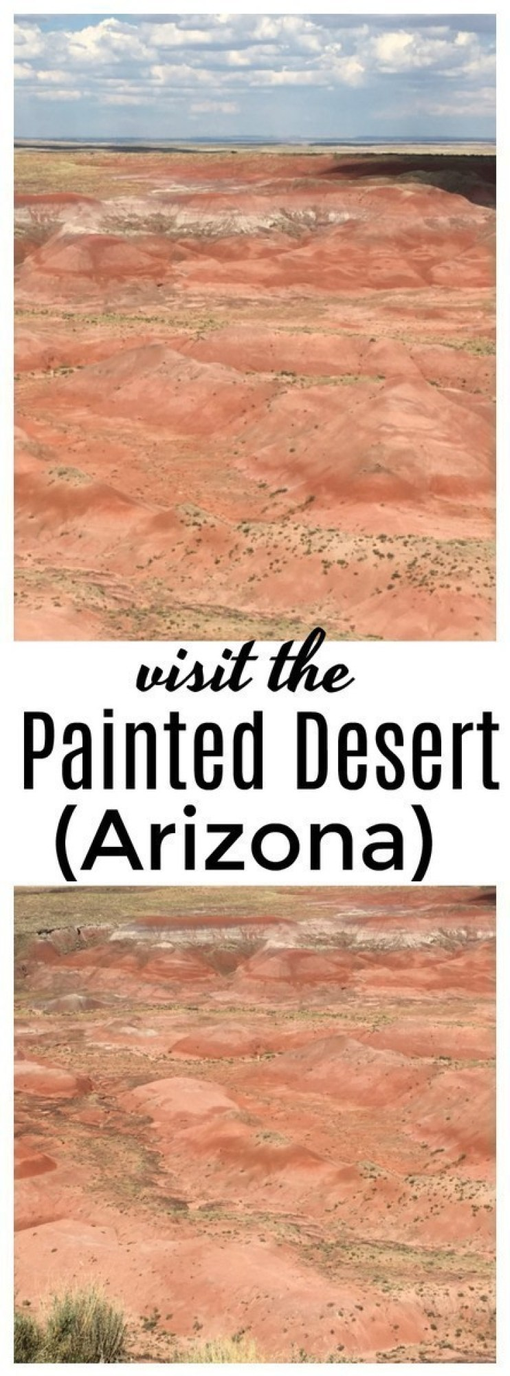The Painted Desert is a beautiful desert of badlands in the Four Corners area - it runs from the east end of the Grand Canyon National Park southeast to the Petrified Forest National Park.