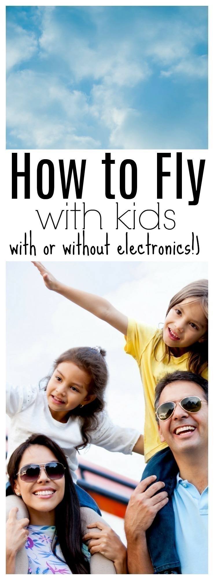 Flying with kids can be stressful - traveling by car OR plane is not an easy feat. Thankfully there are many things you can do to keep them engaged - with or without electronic devices.