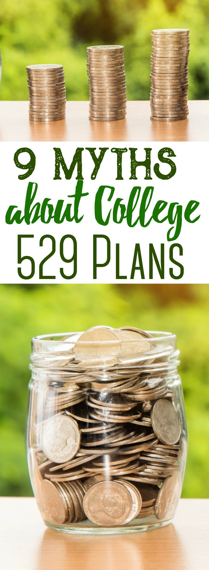 College 529 plans are gaining popularity amongst parents who are trying to save for their children's future education costs. We'll explain 9 common myths about the 529 plan and help you try to uncover their true potential as a savings vehicle. #investing #collegefund #parenting #kids #budget #savingmoney