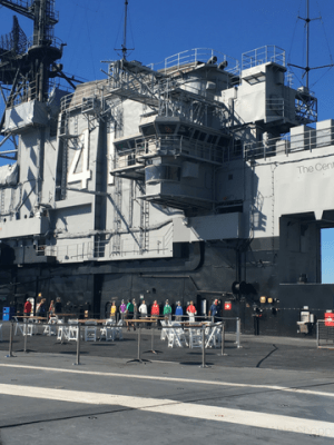 Tips for Touring the U.S.S. Midway in San Diego