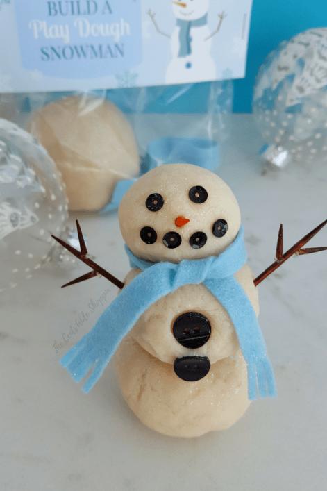 Build a Snowman Play-Doh Kit