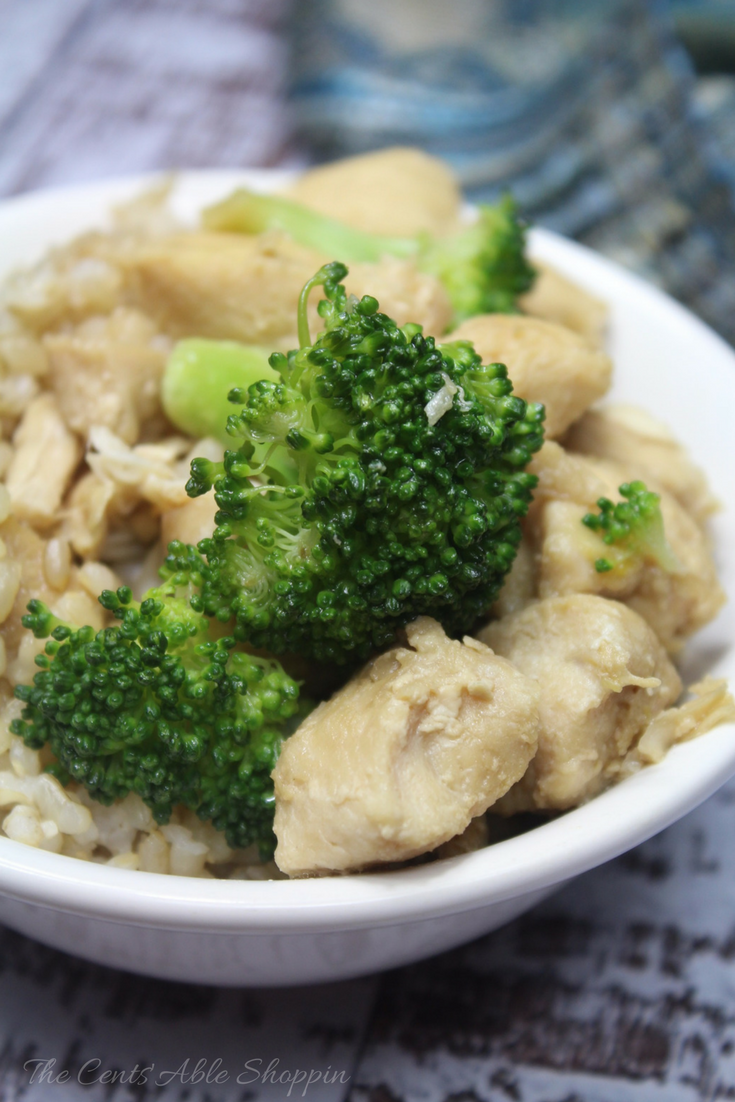 A quick and healthy Instant Pot recipe for chicken and broccoli that will have your family asking for seconds! #InstantPot #Chicken #Broccoli