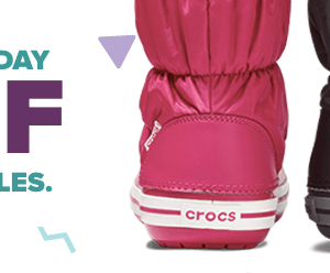 Crocs: 50% OFF Select Styles (Starting at $12.49)