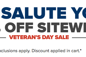 Crocs: 25% OFF Veterans Sale + Additional 10% OFF
