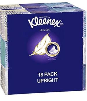 Amazon:   Stock Up on Kleenex + FREE Shipping