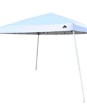 Ozark Trail 12×12 Slant Leg Canopy with 4 Tumblers Value Bundle $45