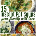 15 Instant Pot Soup Recipes your Family will Love