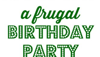How To Plan A Frugal Birthday Party