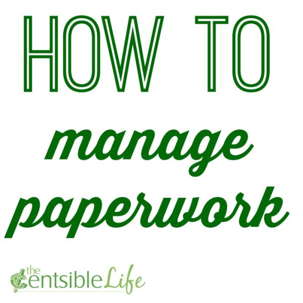 how to manage papework