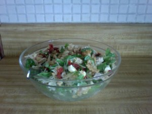experiments in the kitchen (aka I made a salad)
