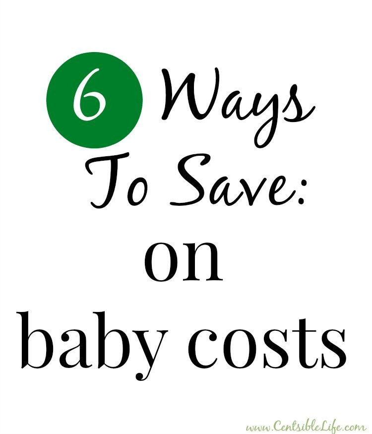 6 ways to save on baby costs