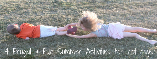 frugal and fun summer activities for hot days