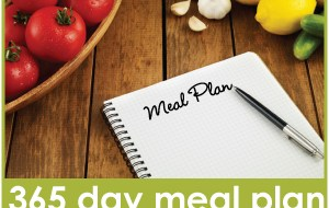 2012 Printable Menu Plan