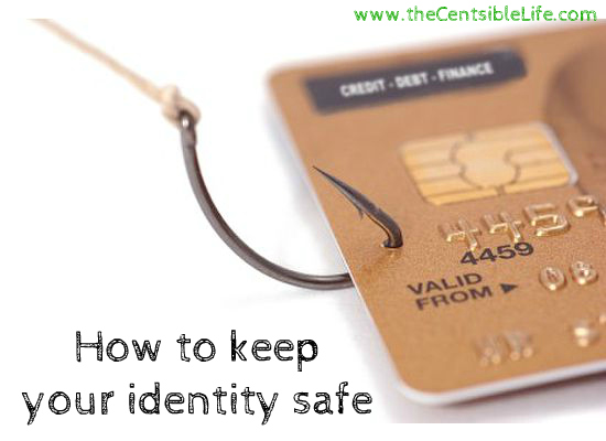 how to keep your identity safe online