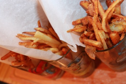 Super fries salty
