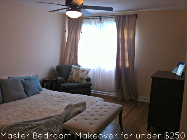 Unique Master Bedroom Makeover for under