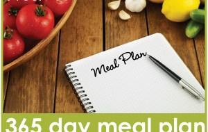 365 Day Meal Plan: Week 23 Menu