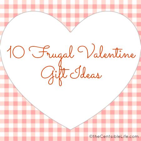 Frugal Valentine Gifts