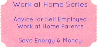 Work at Home: Energy & Money Saving Tips