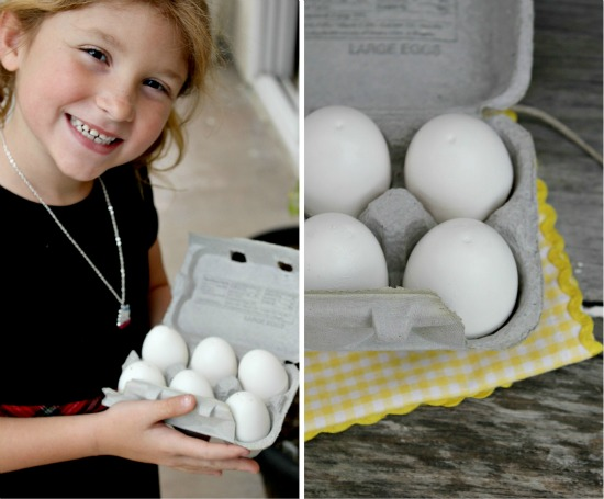 DIY play kitchen food