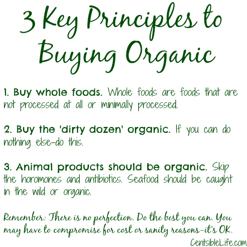 3 Key Principles to Buying Organic
