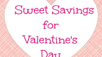 Sweet Savings for Valentine's Day with Discover